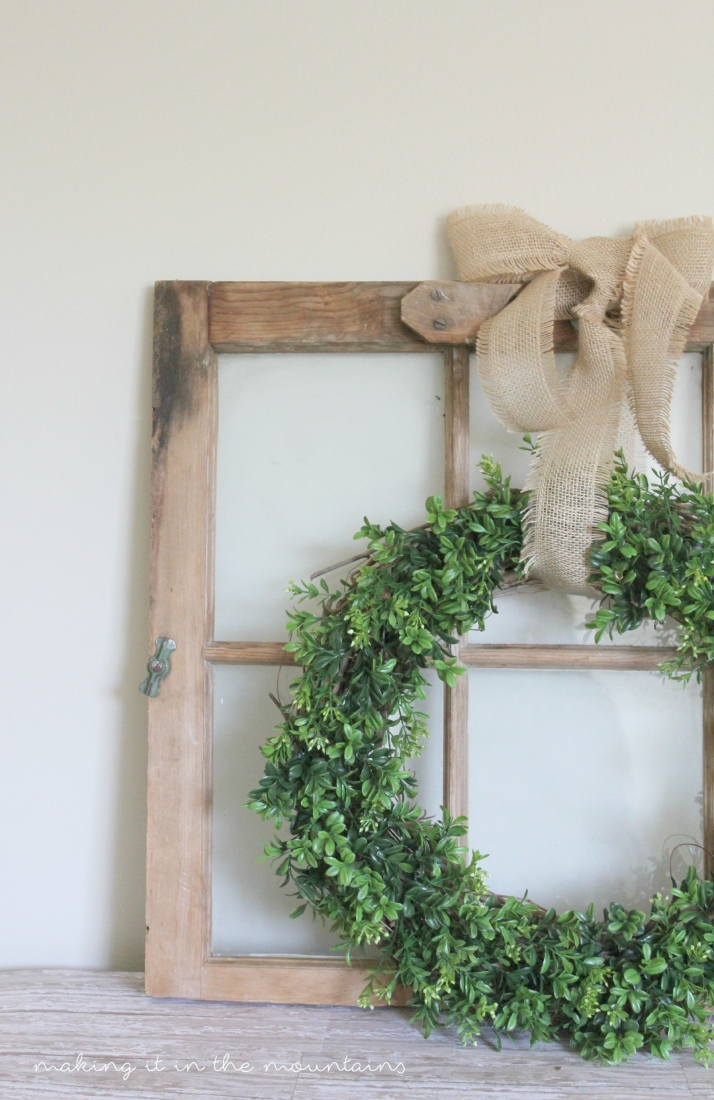 Diy Boxwood Wreath Making It In The Mountains