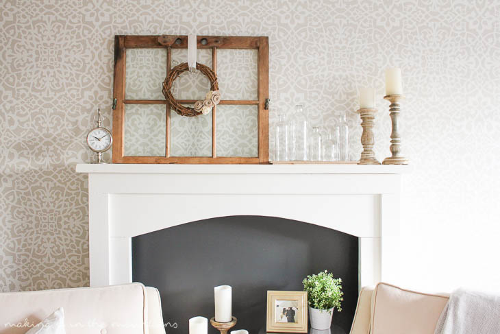 diy faux fireplace a guest post for aka design