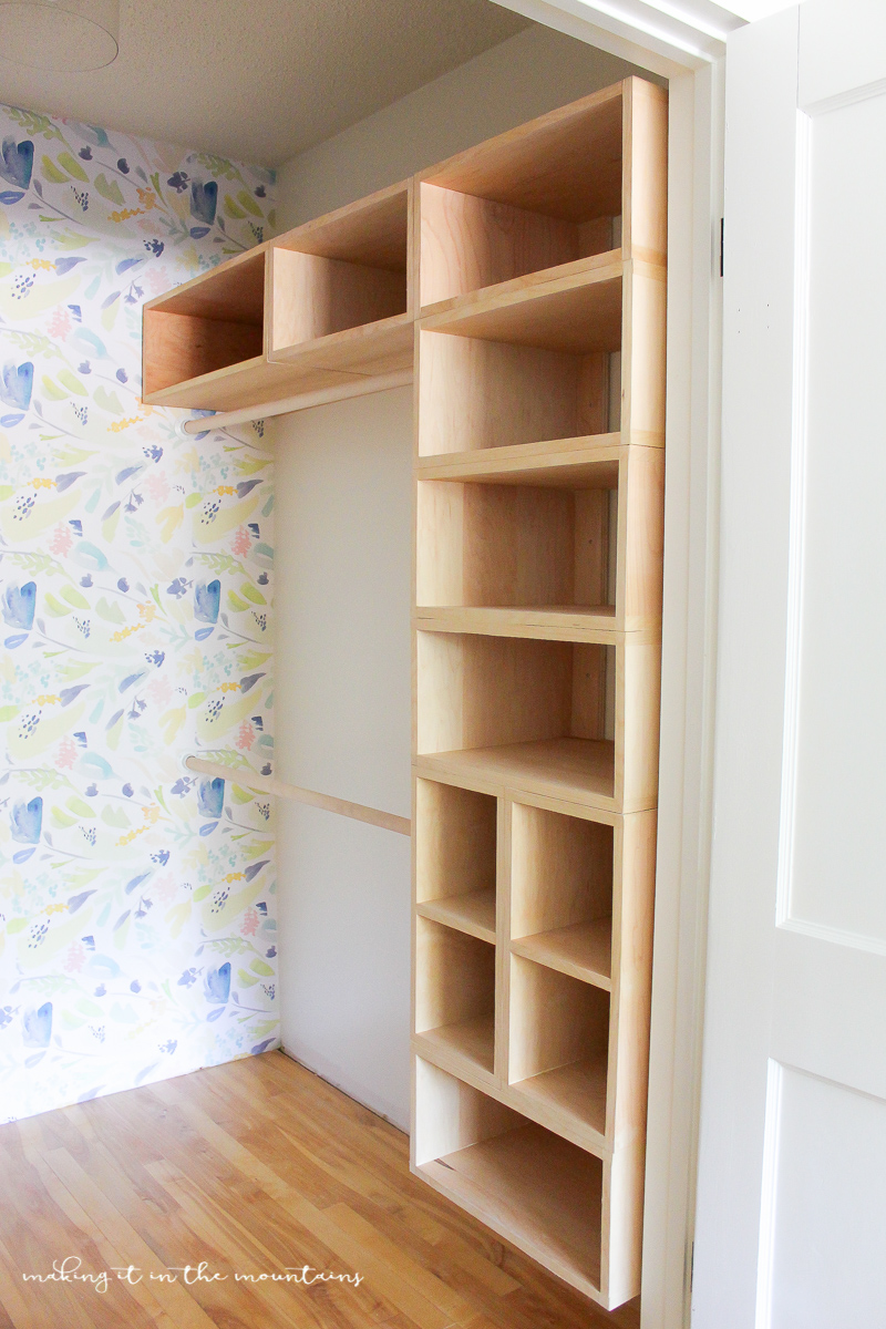 Do It Yourself Home Design: DIY Custom Closet Organizer: The Brilliant Box System