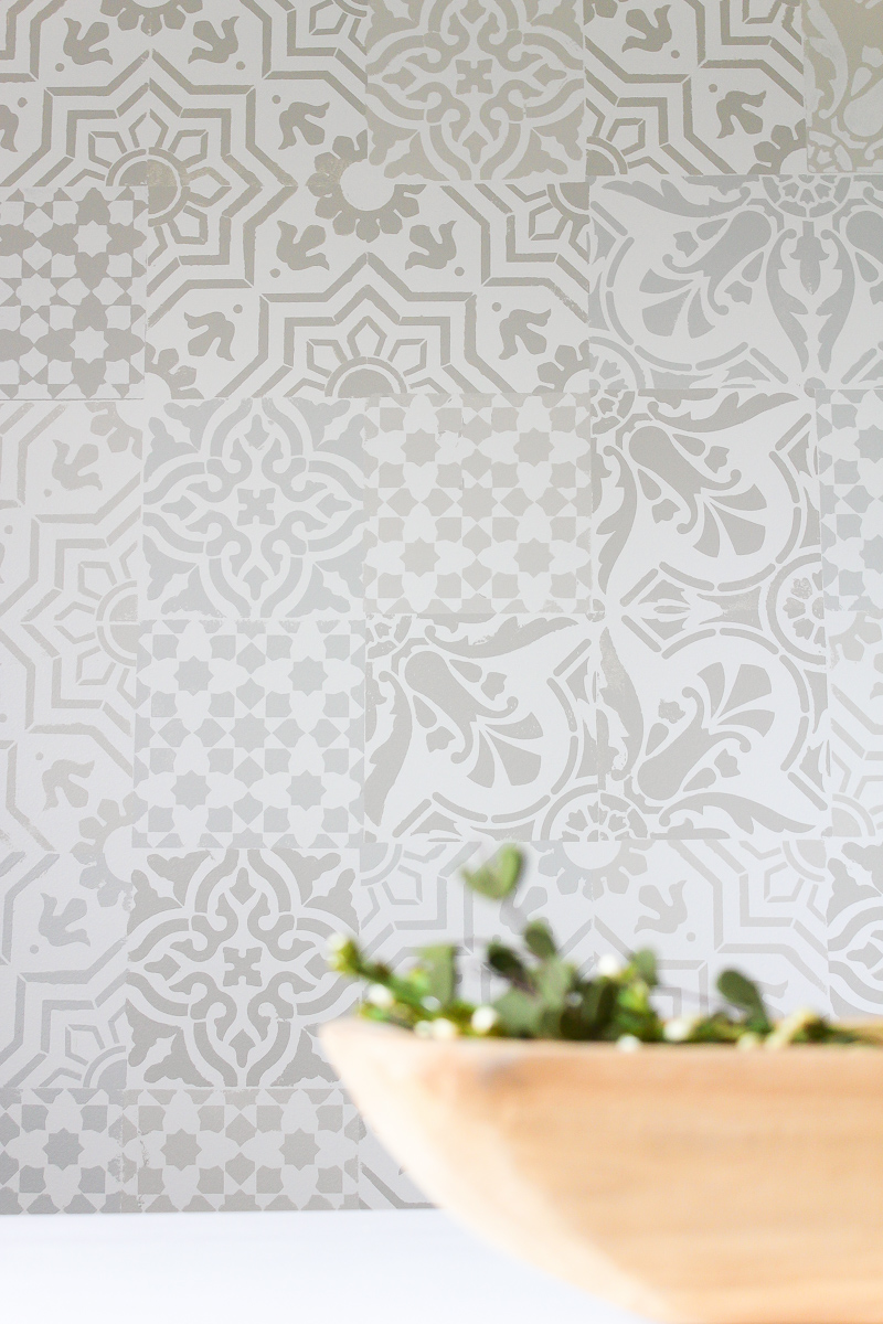 Monthly diy challenge how to get the cement tile look for for Ciment tiles