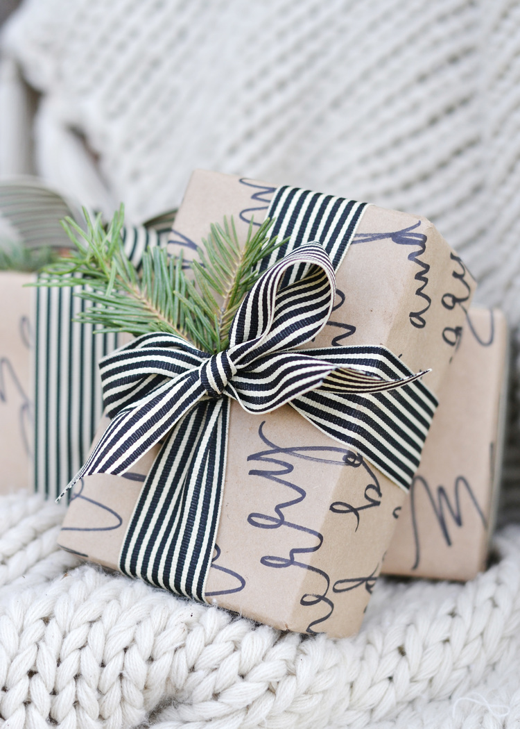 Of the most beautiful ways to wrap a christmas gift