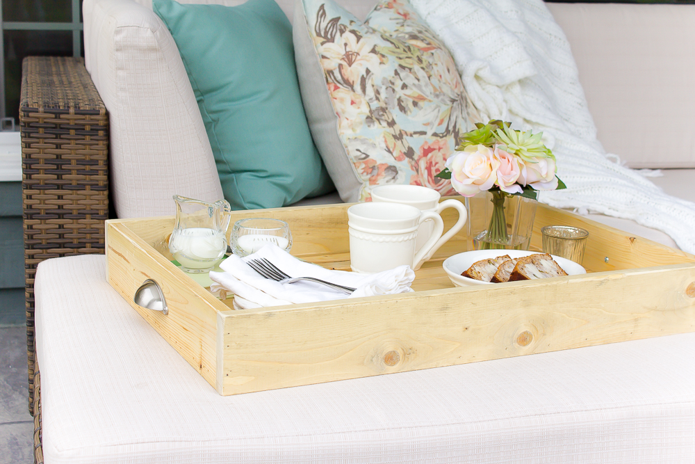 How To Make Your Own Diy Farmhouse Serving Tray Making