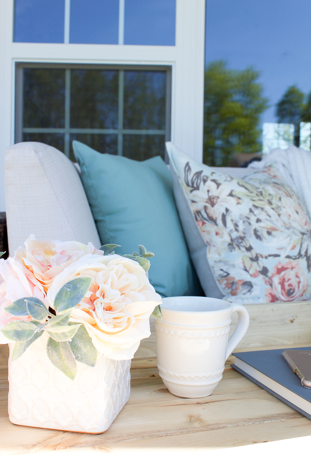 Farmhouse Spring Porch Decor Simple Ways To Welcome Spring To Your Front Porch Making It In