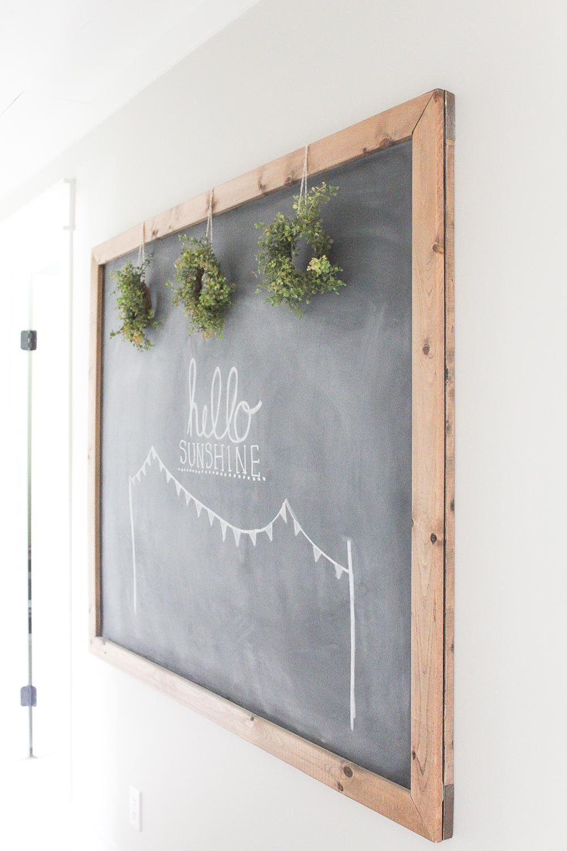 10 Minute Decorating Easy Summer Chalkboard Art Making